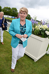 CLARE BALDING at the 2013 Cartier Queens Cup Polo at Guards Polo Club, Berkshire on 16th June 2013.