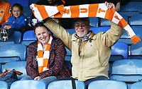 Blackpool fans<br /> <br /> Photographer Rob Newell/CameraSport<br /> <br /> The EFL Sky Bet Championship - Southend United v Blackpool - Saturday 10th August 2019 - Roots Hall - Southend<br /> <br /> World Copyright © 2019 CameraSport. All rights reserved. 43 Linden Ave. Countesthorpe. Leicester. England. LE8 5PG - Tel: +44 (0) 116 277 4147 - admin@camerasport.com - www.camerasport.com