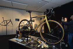 March 31, 2018 - France - Roeselare march 31 Belgium,    Peter Sagan collection  pictured during a presse conference of Peter Sagan of Bora cycling team  in hotel Mercure kwadestraat Roeselare Belgium (Credit Image: © Panoramic via ZUMA Press)