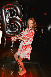 OLIVIA INGE at a party to celebrate the launch of the Beth Ditto Clothing Line held at The London Edition, Berners Street, London on 18th February 2016.
