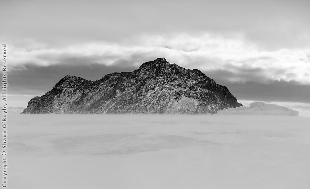 Inaccessible Island, McMurdo Sound, Antarctica
