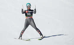 Michael Hayboeck (AUT) during the Trial Round of the Ski Flying Hill Individual Competition at Day 1 of FIS Ski Jumping World Cup Final 2019, on March 21, 2019 in Planica, Slovenia. Photo by Vid Ponikvar / Sportida