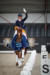 Heijkoop Danielle, NED, Daula Li<br /> Nederlands Kampioenschap Dressuur <br /> Ermelo 2017<br /> © Hippo Foto - Dirk Caremans<br /> 15/07/2017