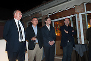 NICHOLAS LOGSDAIL; YONG WOO; ALESSANDRO POSSALI; MAURIZIO BORLOTTI; GREG HILLS, Zuecca Project Space and Lisson Gallery host dinner in honour of Ai Weiwe, Bauer Hotel, St. Marco,  Venice Bienalle. 28 May 2013