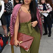 Taz Khan is a designer attend Fashion Scout - SS19 - London Fashion Week - Day 2, London, UK. 15 September 2018.
