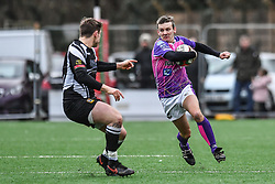 Pontypridd's Alex Webber in action during todays match - Mandatory by-line: Craig Thomas/Replay images - 30/12/2017 - RUGBY - Sardis Road - Pontypridd, Wales - Pontypridd v Bedwas - Principality Premiership