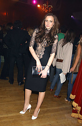 CAMILLA AL FAYED at the Myla Debutantes Coming-Out show held at The Porchester Hall, Porchester Road, London on 31st January 2006.<br /><br />NON EXCLUSIVE - WORLD RIGHTS