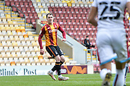 Callum Cooke Pass during the EFL Sky Bet League 2 match between Bradford City and Scunthorpe United at the Utilita Energy Stadium, Bradford, England on 1 May 2021.