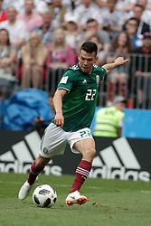 June 22, 2018 - EUM20180622DEP16.JPG.CIUDAD DE MÉXICO, Soccer/Futbol-Mundial.- La Selección Mexicana, en su segundo partido de fase de grupos del Mundial de Rusia, se enfrentará este sábado ante Corea del Sur, en el estadio Rostov Arena a las 10:00 horas del centro de México. En imagen, Hirving Lozano. Foto: Archivo Agencia EL UNIVERSAL/MAR. (Credit Image: © El Universal via ZUMA Wire)