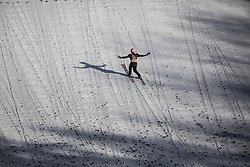 Dawid Kubacki (POL) during the 1st round of the Ski Flying Hill Individual Competition at Day 2 of FIS Ski Jumping World Cup Final 2019, on March 22, 2019 in Planica, Slovenia. Photo Peter Podobnik / Sportida