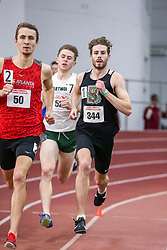 mens 800 meters, Brown, Lanigan<br /> BU John Terrier Classic <br /> Indoor Track & Field Meet <br /> day 2