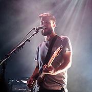 WASHINGTON, DC - February 22nd, 2014 - White Lies performs at the 9:30 Club in Washington, D.C. (Photo by Kyle Gustafson/www.kylegustafson.com)
