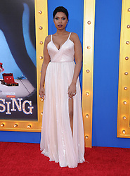 Jennifer Hudson bei der Premiere von Sing in Los Angeles / 031216