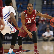 Will Cummings, Temple, in action during the Temple Vs SMU Semi Final game at the American Athletic Conference Men's College Basketball Championships 2015 at the XL Center, Hartford, Connecticut, USA. 14th March 2015. Photo Tim Clayton