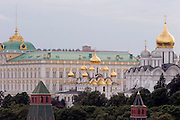 Moscow, Russia, 22/07/2006.&#xA;The Kremlin on Red Square.<br />