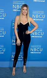 Khloe Kardashian at The 2017 NBCUniversal Upfront in New York City.
