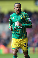 Martin Olsson of Norwich City looks on. Barclays Premier League match, Crystal Palace v Norwich city at Selhurst Park in London on Saturday 9th April 2016. pic by John Patrick Fletcher, Andrew Orchard sports photography.