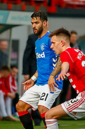 Daniel Candeias during the Ladbrokes Scottish Premiership match between Hamilton Academical FC and Rangers at The Hope CBD Stadium, Hamilton, Scotland on 24 February 2019.