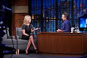 """August 16, 2021 - USA: NBC's """"Late Night With Seth Meyers"""" - Episode: 1179A"""
