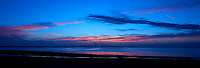 Sunshine Skyway Bridge Panorama at Dawn from Fort De Soto Park, in Pinellas County, Florida. Image taken with a Nikon D4 and 17-35  mm f/2.8D lens (ISO 100, 26 mm, f/11, 1/13 sec).