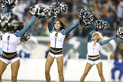 Philadelphia Eagles Cheerleaders perform before the NFL game between the Chicago Bears and the Philadelphia Eagles on Sunday, December 22nd 2013 in Philadelphia. The Eagles won 54-11. (Photo by Brian Garfinkel)