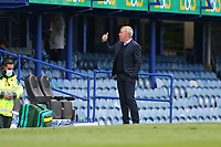 Football - 2020 / 2021 Sky Bet League One - Portsmouth vs. MK Dons<br /> <br /> Portsmouth Manager Kenny Jackett gives the thumbs up to the directors box after the final whistle at Fratton Park <br /> <br /> COLORSPORT/SHAUN BOGGUST