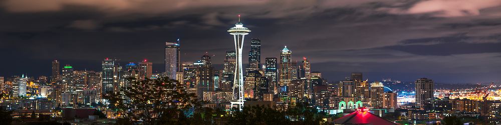 Downtown as seen from Kerry Park. Seattle, WA
