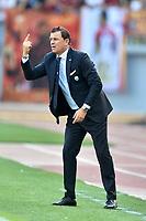 Leonardo Semplici, Roma Spal coach<br /> Roma 20-10-2018 Stadio Olimpico<br /> Football Calcio Campionato Serie A<br /> 2018/2019 <br /> Roma - Spal<br /> Foto Antonietta Baldassarre / Insidefoto