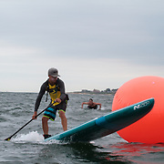 The Fifth Annual Waterman Eco-Challenge at the Narragansett Beach, , Rhode Island, USA, July18,2015.  Photo: Tripp Burman