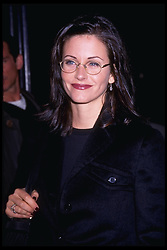 October 20, 1996;  Hollywood, CA, USA;  Actress COURTENEY COX attends the  premiere of ''High School High'' .  (Michelson - Hutchins/1996)  (Credit Image: © Michelson/ZUMAPRESS.com)