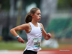 2021 High School Nationals<br /> NSAF Outdoor Track and Field Championship<br /> girls freshman mile heat 2
