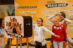 06-01-2018 NED: DELA Beach Open day 4, Den Haag<br /> Entertainment voor de jeugd in het Dela Beach Huis