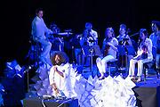 Reggie Watts,with the Metropolitan Ensemble.