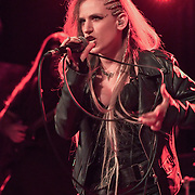 Noa Gruman is a Vocalist of Scardust from Israel performs at The Lexington, Pentonville Rd, Islington,on 21 July 2019,  London, UK.