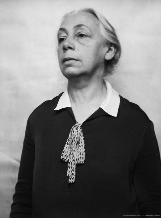 Kathe Kollwitz, professor, printmaker and sculptor, 1926