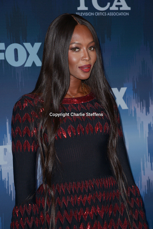NAOMI CAMPBELL at the Fox Winter TCA 2017 All-Star Party at the Langham Hotel in Pasadena, California