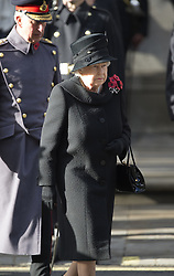HM Königin, Elizabeth II beim Remembrance Sunday in London / 131116 *** Remembrance Sunday, London, 13 Nov 2016 ***
