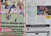 All Ireland Senior Hurling Championship Final,.08.09.2002, 09.08.2002, 8th September 2002,.Senior Kilkenny 2-20, Clare 0-19,.Minor Kilkenny 3-15, Tipperary 1-7,.8092002AISHCF,.The Irish Sun,