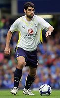 Fotball<br /> England<br /> Foto: Fotosports/Digitalsport<br /> NORWAY ONLY<br /> <br /> Chelsea FC vs Tottenham Hotspur FC Premiership 20/09/09<br /> <br /> Spurs defender Vedran Corluka in action.