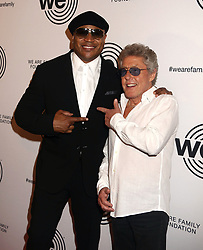 April 27, 2018 - New York City, New York, U.S. - Hip hop artist/actor LL COOL J  and musician ROGER DALTREY from the band 'The Who' attend the 2018 We Are Family Foundation Celebration Gala held at the Hammerstein Ballroom. (Credit Image: © Nancy Kaszerman via ZUMA Wire)