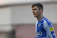 Bristol Rovers midfielder Zain Westbrook (8) during the EFL Sky Bet League 1 match between Oxford United and Bristol Rovers at the Kassam Stadium, Oxford, England on 23 January 2021.