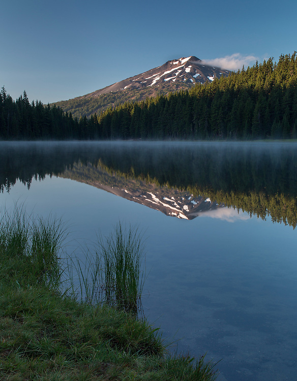 Mt. Bachelor from Todd Lake
