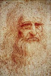 March 20, 2012.Self portrait by Leonardo da Vinci will be restored. (Credit Image: © Ropi via ZUMA Press)
