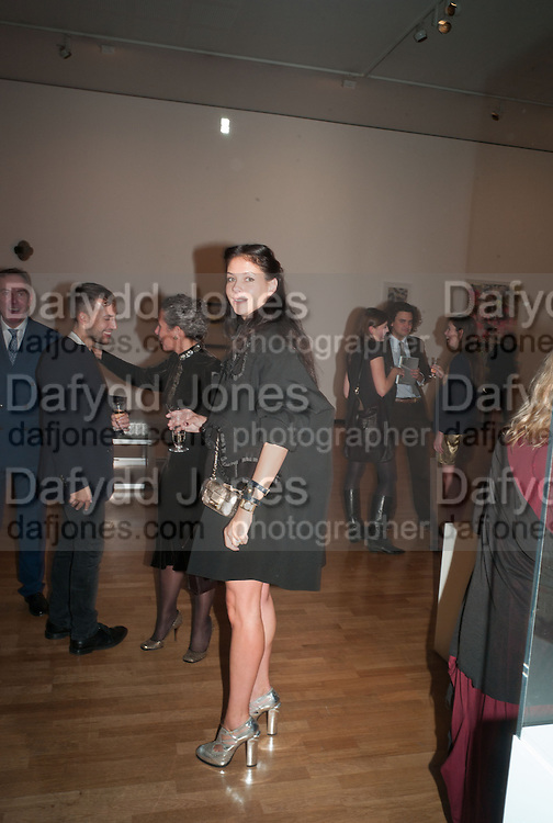 CHARLOTTE STOCKDALE, Gala Opening of RA Now. Royal Academy of Arts,  8 October 2012.