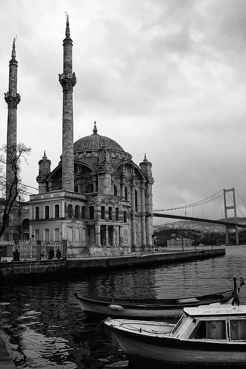 Ortakoy Mosque, Istanbul - Monochrome