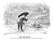For This Relief… At last we can use the new hose with a clear conscience.