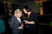 ROSALIE BLAIR AND CAROLYN MCCALL,, Veuve Cliquot Business Woman Award. Berkeley Hotel 8 April 2008.  *** Local Caption *** -DO NOT ARCHIVE-© Copyright Photograph by Dafydd Jones. 248 Clapham Rd. London SW9 0PZ. Tel 0207 820 0771. www.dafjones.com.