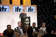 GARY COHN, ( GOLDMAN SACHS WON BANKER OF THE YEAR)  THE PRINCESS ROYAL AND KEITH MUELLER. IFR ( International Financial Review)  Awards Gala  Dinner Fundraiser for Save the Children, Grosvenor House. London. 14 January 2008. <br />