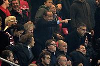 Silvio Berlusconi in tribuna<br /> Milano 20-11-2016 Stadio Giuseppe Meazza - Football Calcio Serie A Milan - Inter Foto Giuseppe Celeste / Insidefoto
