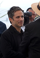 Gael García Bernal and Elia Suleiman at It Must Be Heaven film photo call at the 72nd Cannes Film Festival, Friday 24th May 2019, Cannes, France. Photo credit: Doreen Kennedy